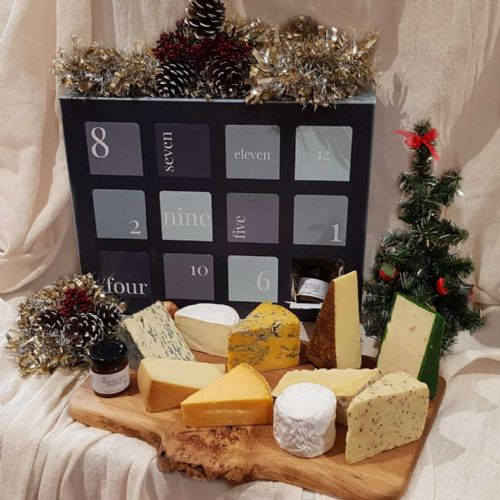 Cheese Advent Calendar, 12 days of Christmas Cheese